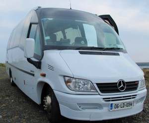 Tour bus fleet options - suitable for golf and tourist visits
