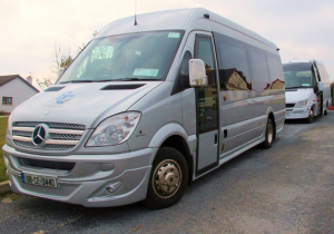 Transport fleet - tour bus for golf and sightseeing