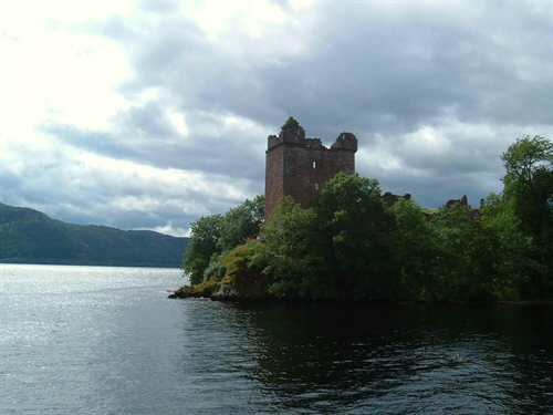 Scottish castles - view as part of Scottish golf tour