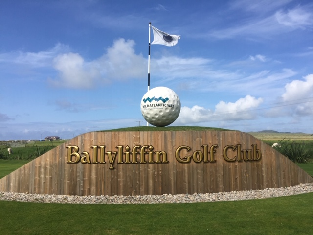 Ballyliffen golf club, one of the courses on the Northern Ireland Golf Tour
