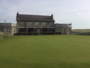 County Louth golf club clubhouse - an option for golf tours in Ireland
