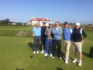 Sorrento tour group at Royal County Down Golf Club - combining Northern and Southern Golf Tour of Ireland