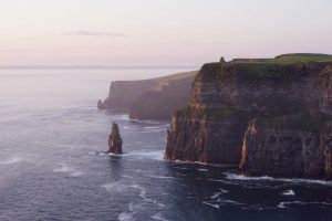 Cliffs of Moher at sunset - Clare, Ireland - part of South west golf tour of Ireland